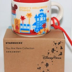 New Hollywood Studios Starbucks Ornament Retired